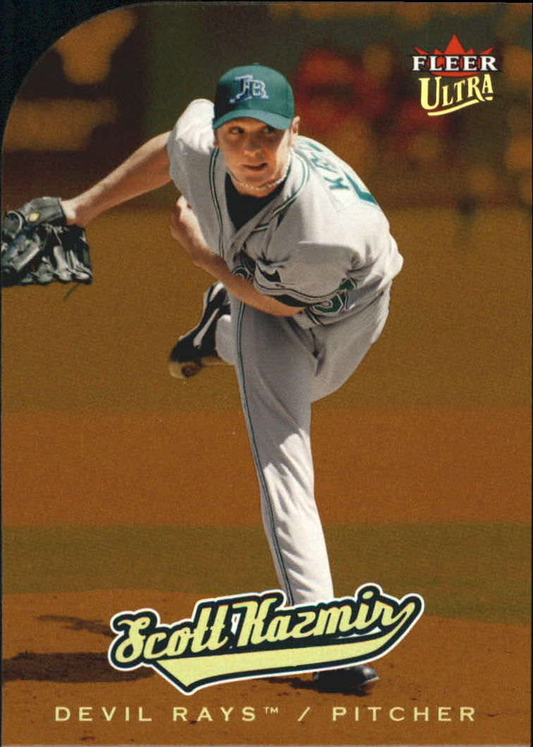 2005 Ultra Gold Medallion #202 Scott Kazmir AR