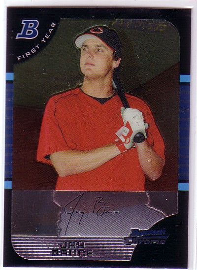 2005 Bowman Chrome Draft #32 Jay Bruce FY RC