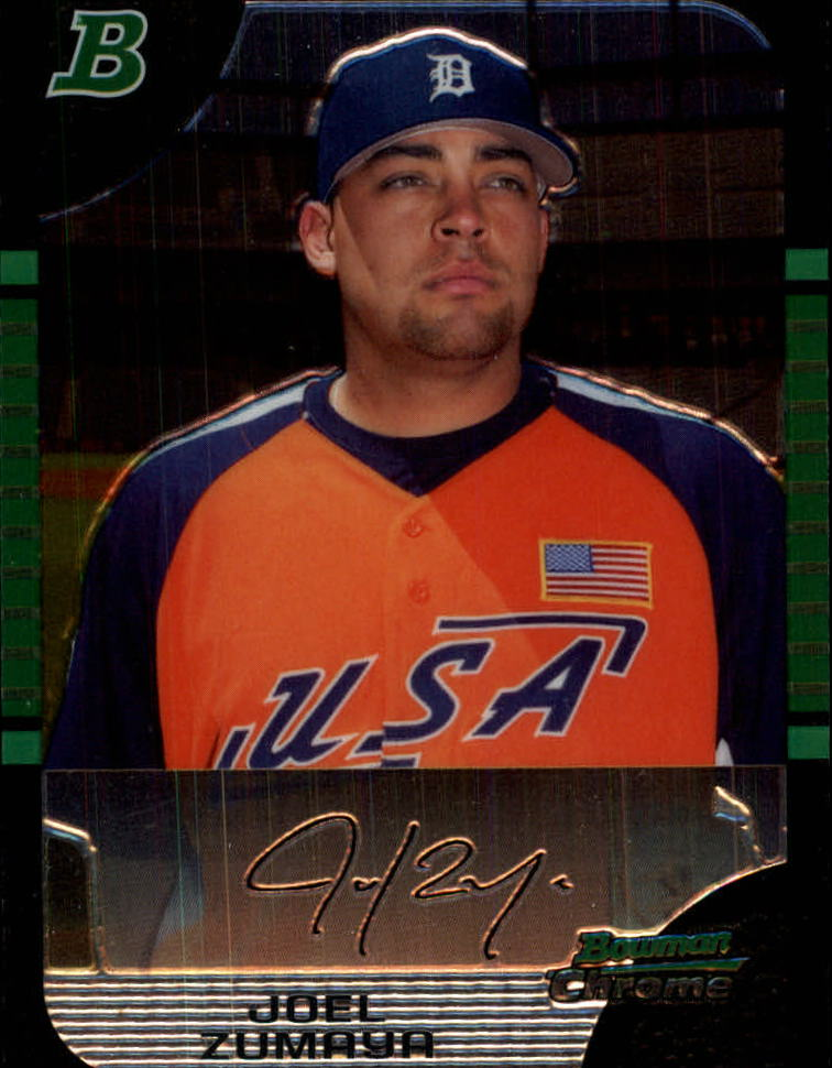 2005 Bowman Chrome Draft #131 Joel Zumaya PROS