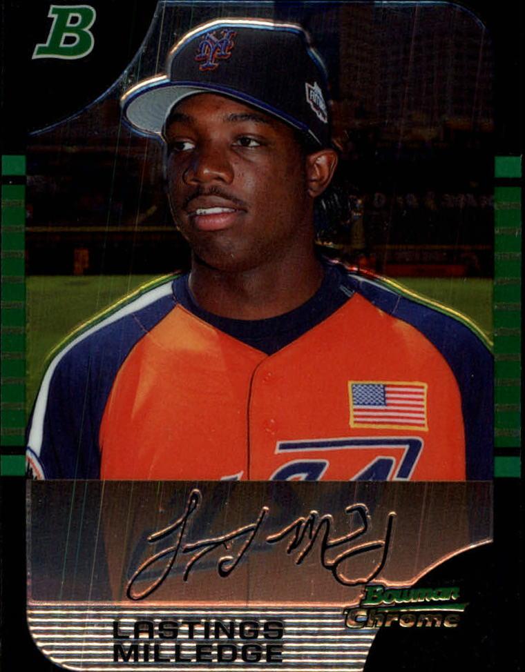 2005 Bowman Chrome Draft #154 Lastings Milledge PROS
