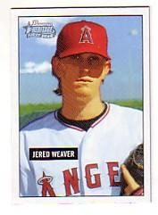 2005 Bowman Heritage #245 Jered Weaver FY RC