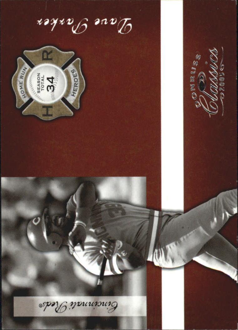 2005 Donruss Classics Home Run Heroes #39 Dave Parker