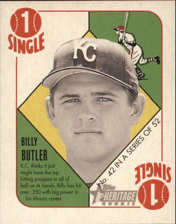 2005 Bowman Heritage '51 Topps Heritage Blue Backs #42 Billy Butler
