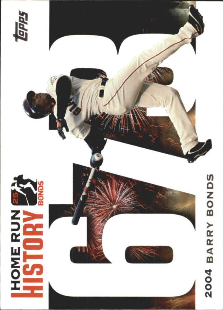 2005 Topps Barry Bonds Home Run History #673 Barry Bonds HR673