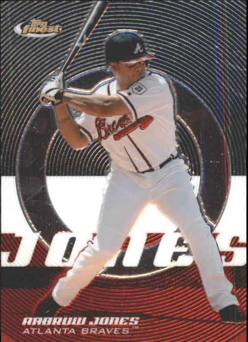 2005 Finest #8 Andruw Jones