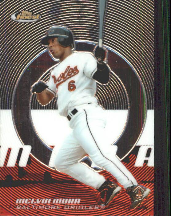 2005 Finest #16 Melvin Mora