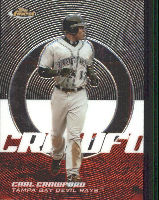 2005 Finest #20 Carl Crawford