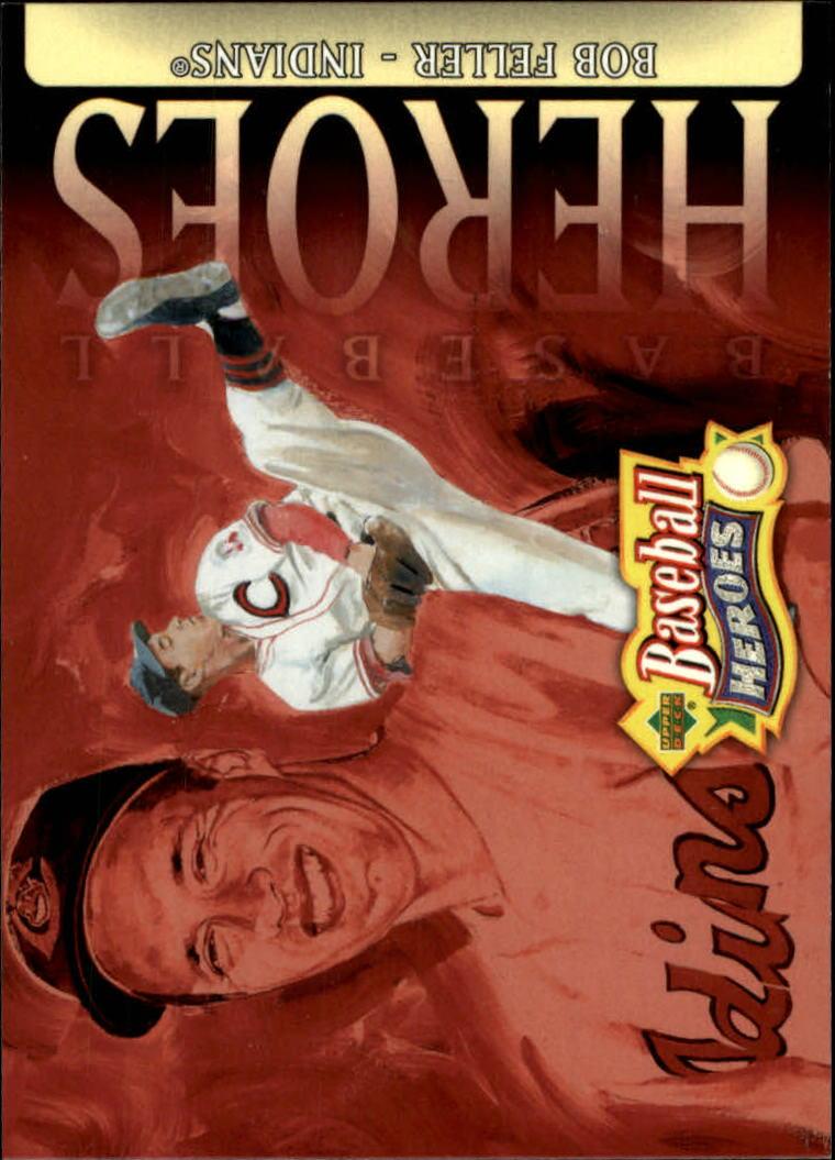 2005 Upper Deck Baseball Heroes #5 Bob Feller HDR