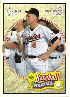 2005 Upper Deck Baseball Heroes #12 Cal Ripken