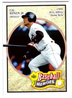 2005 Upper Deck Baseball Heroes #13 Cal Ripken