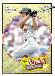 2005 Upper Deck Baseball Heroes #14 Cal Ripken