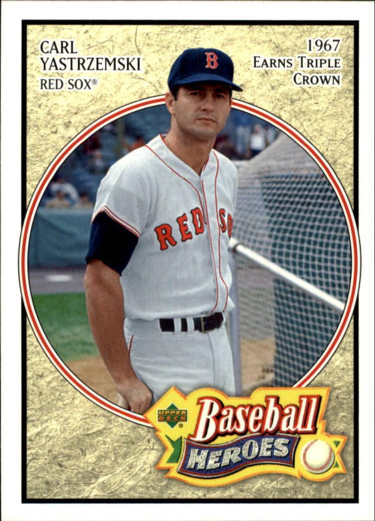 2005 Upper Deck Baseball Heroes #16 Carl Yastrzemski