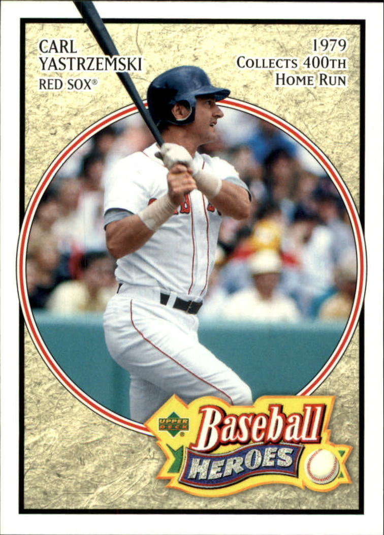 2005 Upper Deck Baseball Heroes #17 Carl Yastrzemski