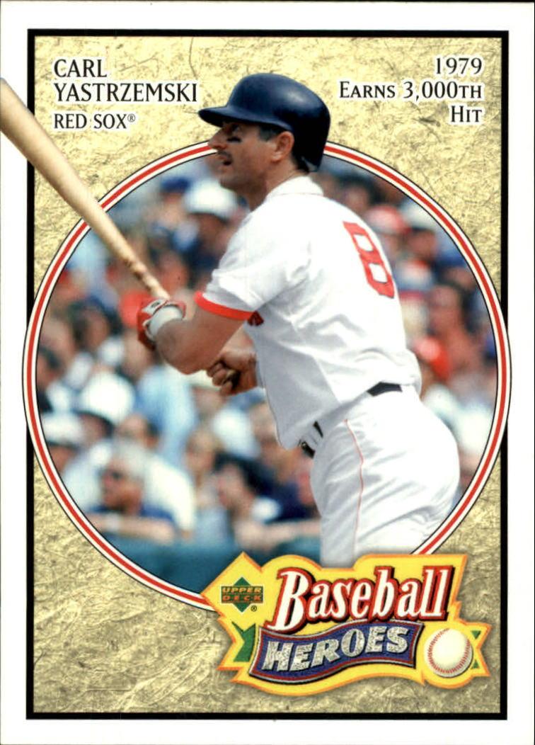 2005 Upper Deck Baseball Heroes #18 Carl Yastrzemski