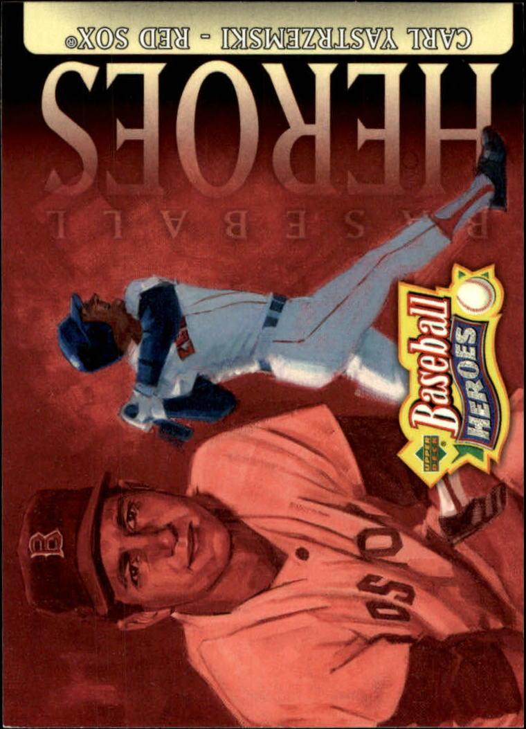 2005 Upper Deck Baseball Heroes #20 Carl Yastrzemski HDR