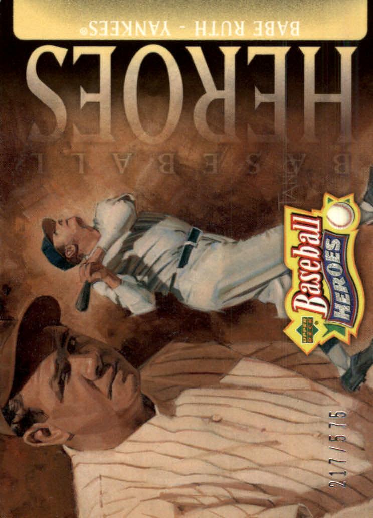 2005 Upper Deck Baseball Heroes #105 Babe Ruth Yanks HDR