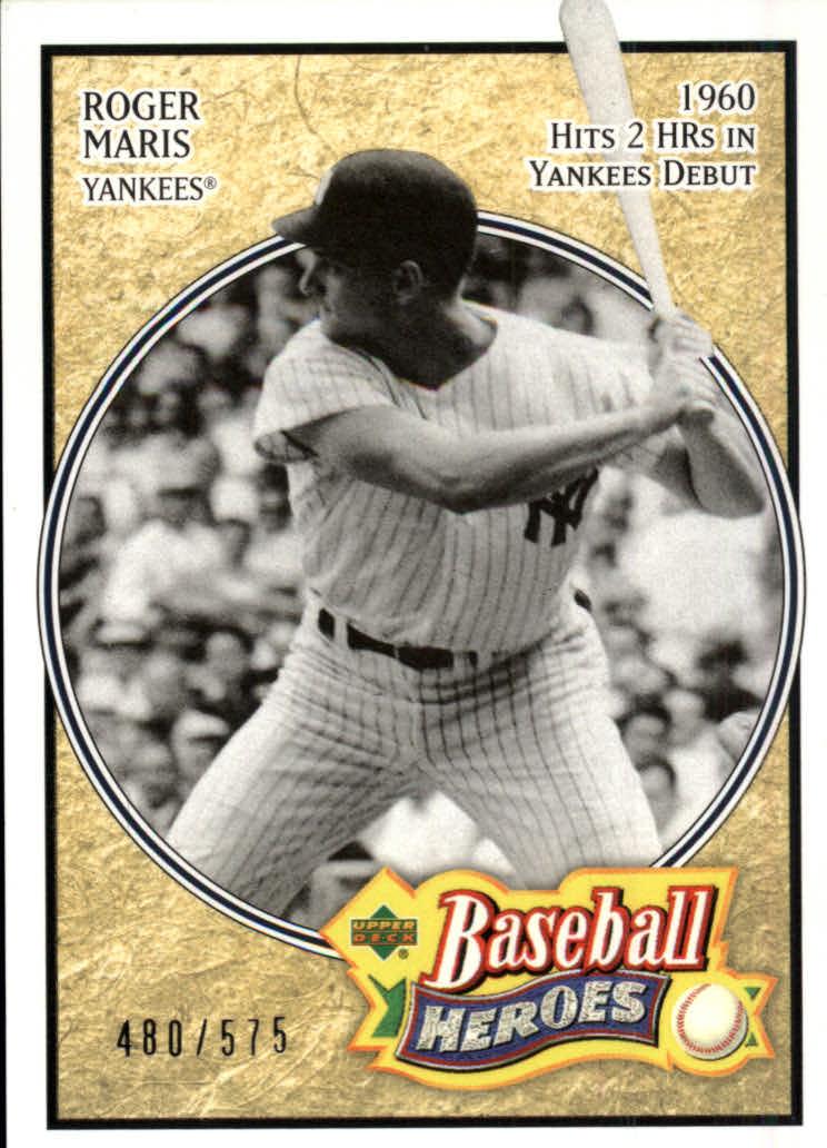 2005 Upper Deck Baseball Heroes #106 Roger Maris