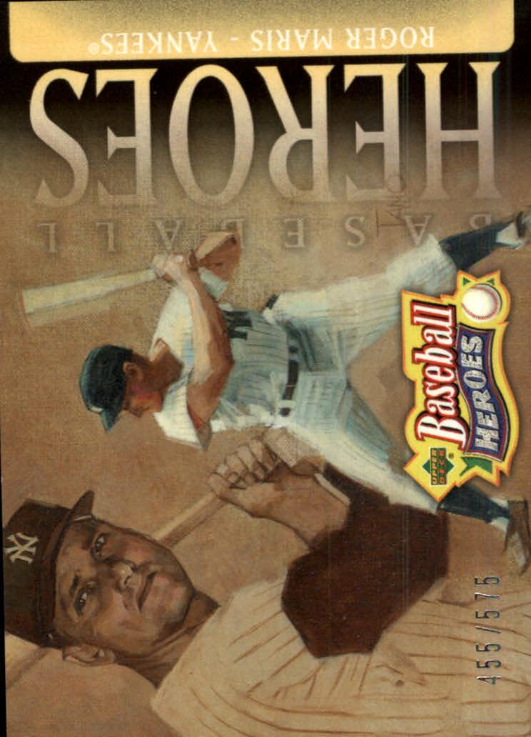 2005 Upper Deck Baseball Heroes #110 Roger Maris HDR