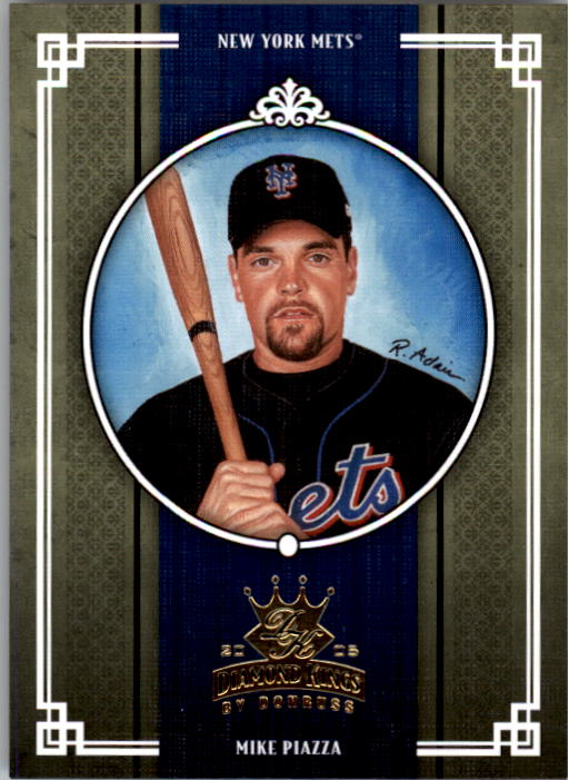 2005 Diamond Kings #145 Mike Piazza