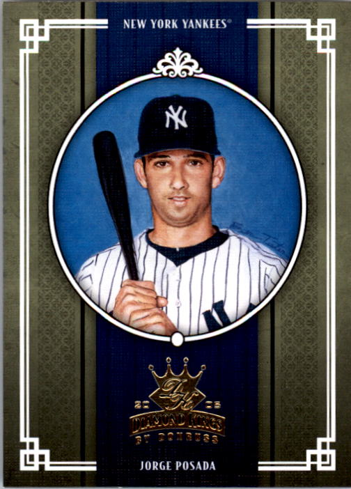 2005 Diamond Kings #153 Jorge Posada
