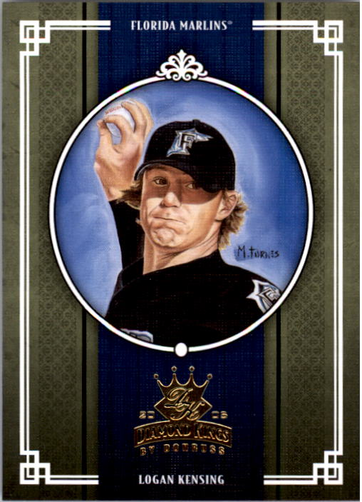 2005 Diamond Kings #245 Logan Kensing
