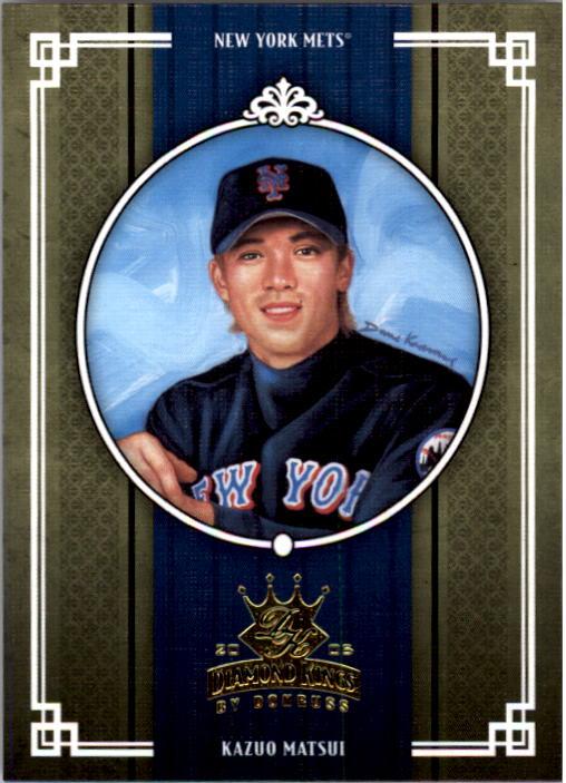 2005 Diamond Kings #364 Kazuo Matsui