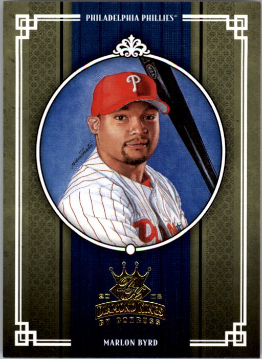 2005 Diamond Kings #382 Marlon Byrd