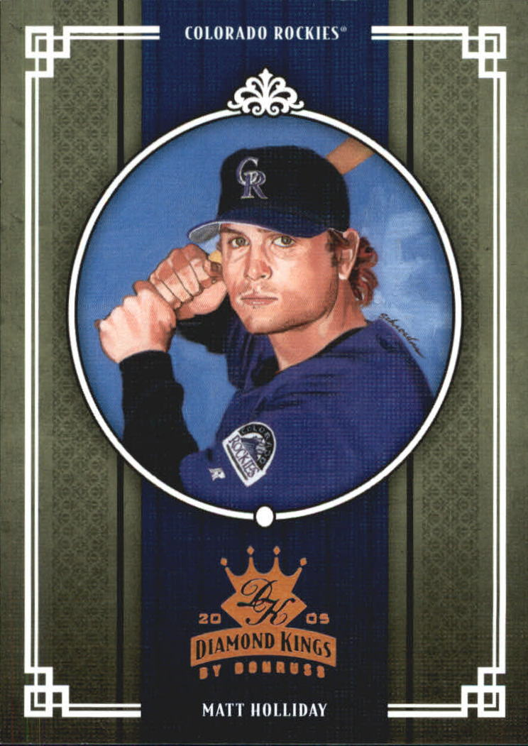 2005 Diamond Kings Bronze #86 Matt Holliday