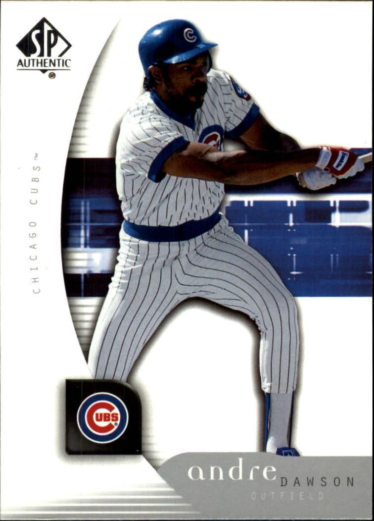 2005 SP Authentic #8 Andre Dawson