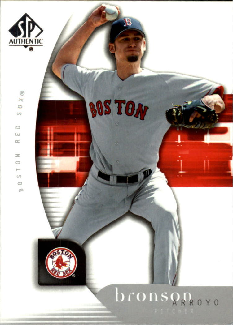 2005 SP Authentic #16 Bronson Arroyo