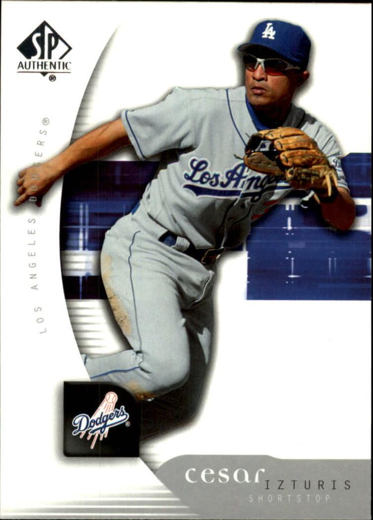 2005 SP Authentic #21 Cesar Izturis