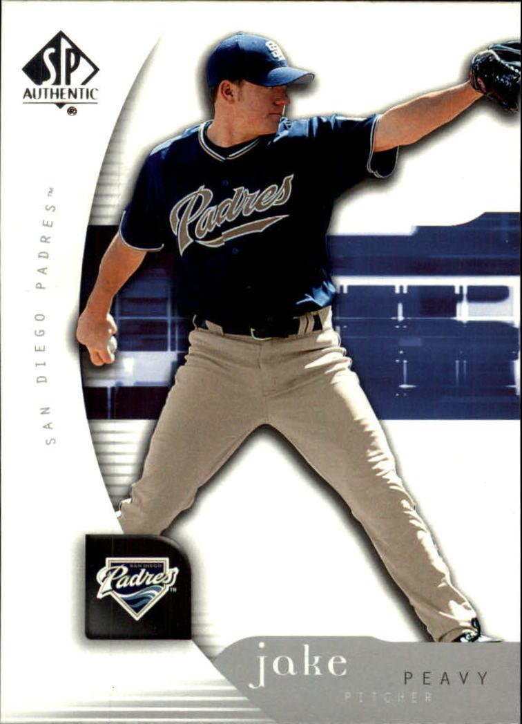2005 SP Authentic #45 Jake Peavy