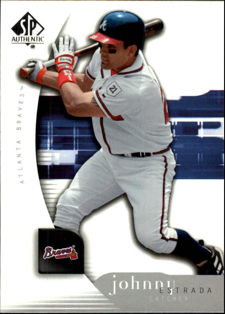 2005 SP Authentic #56 Johnny Estrada