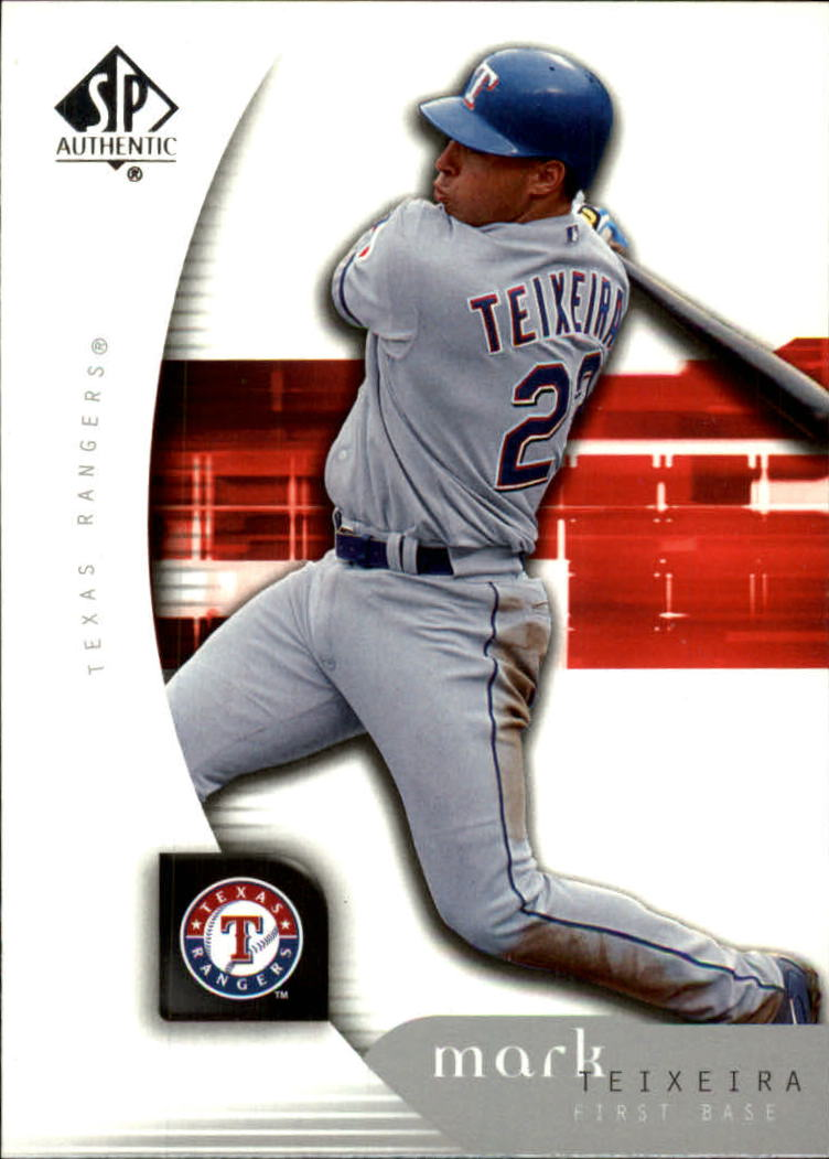 2005 SP Authentic #66 Mark Teixeria