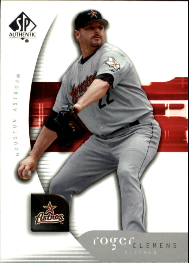 2005 SP Authentic #83 Roger Clemens
