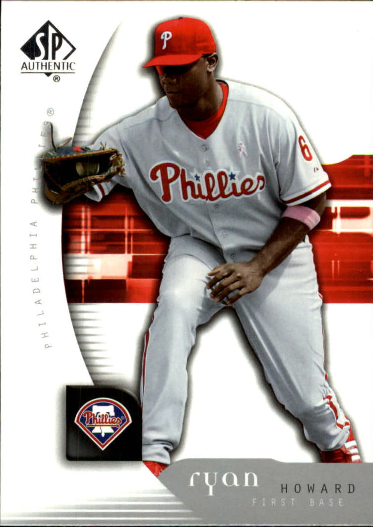 2005 SP Authentic #85 Ryan Howard