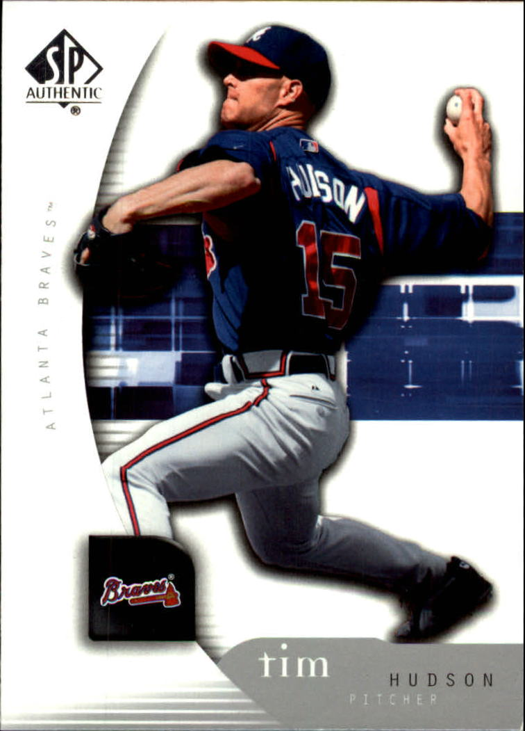2005 SP Authentic #92 Tim Hudson