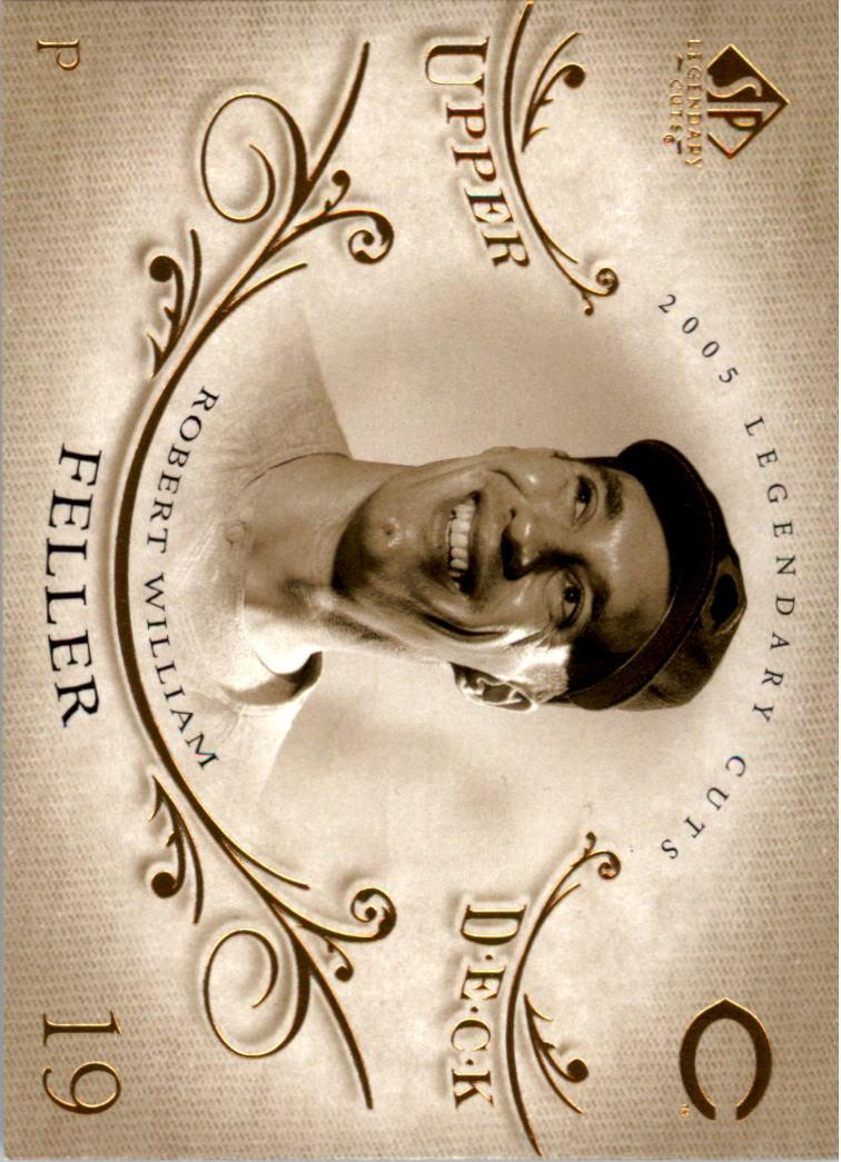 2005 SP Legendary Cuts #5 Bob Feller