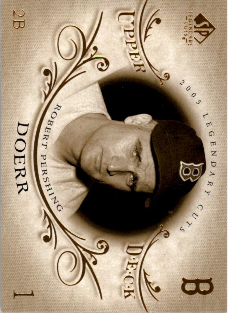 2005 SP Legendary Cuts #8 Bobby Doerr