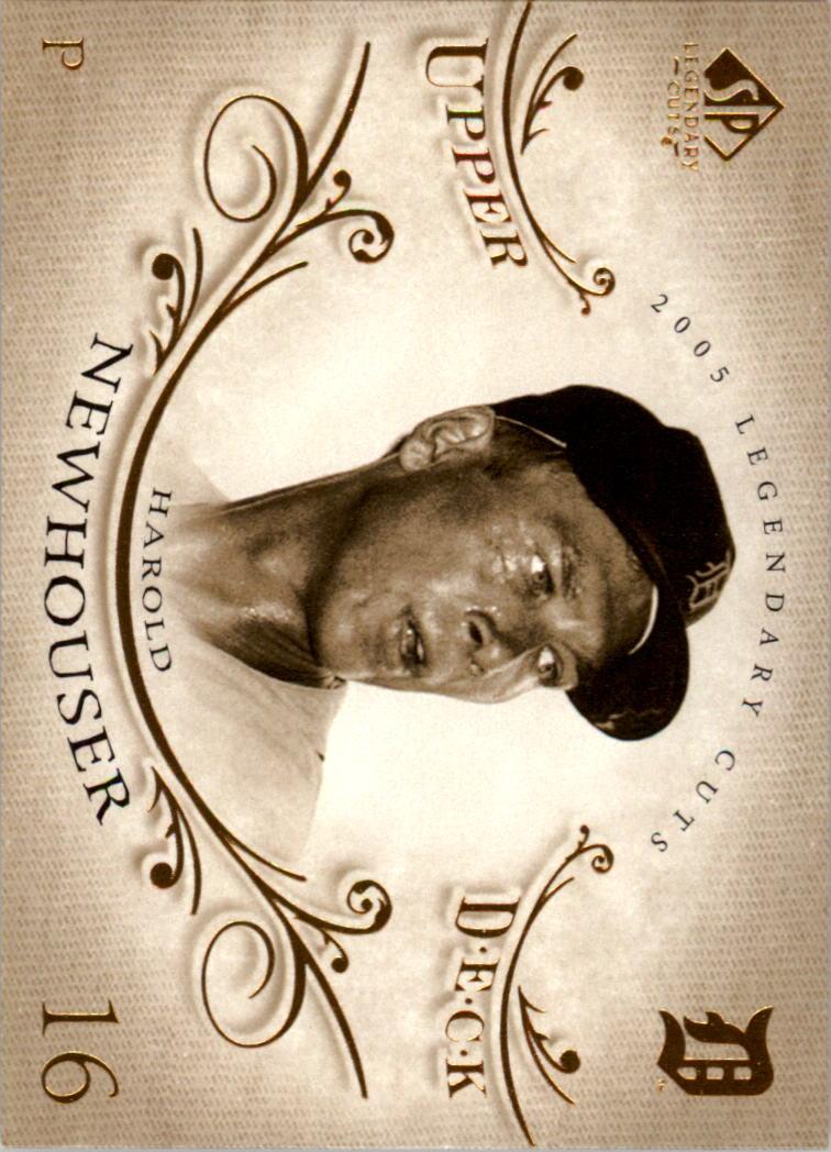 2005 SP Legendary Cuts #32 George Sisler