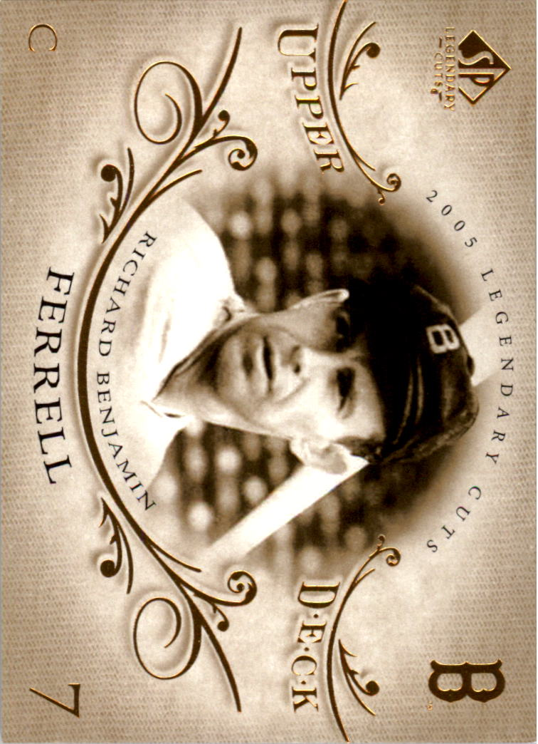 2005 SP Legendary Cuts #67 Rick Ferrell