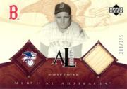 2005 Artifacts AL/NL Artifacts #BD Bobby Doerr Bat/325