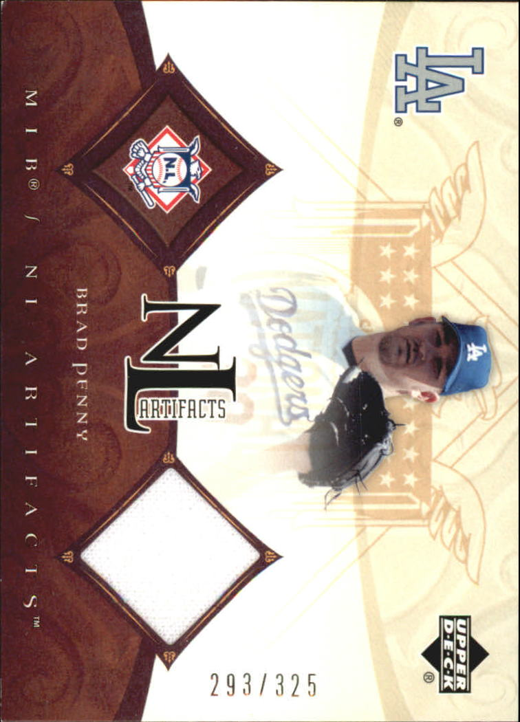 2005 Artifacts AL/NL Artifacts #BPN Brad Penny Jsy/325