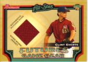 2005 Bowman Futures Game Gear Jersey Relics #CE Clint Everts