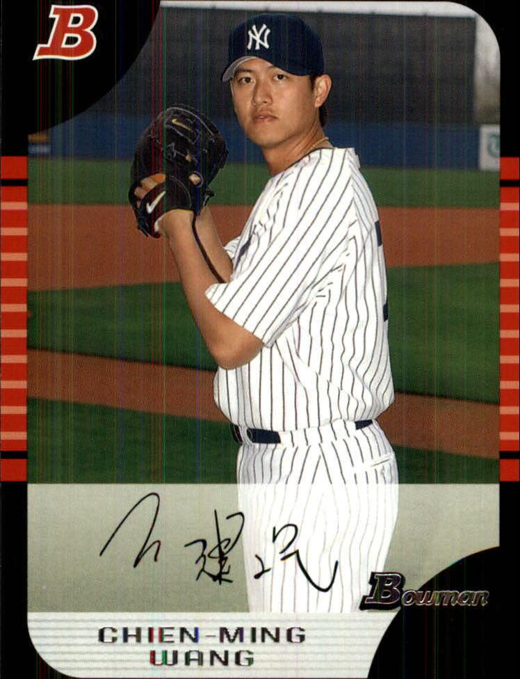 2005 Bowman Draft #4 Chien-Ming Wang