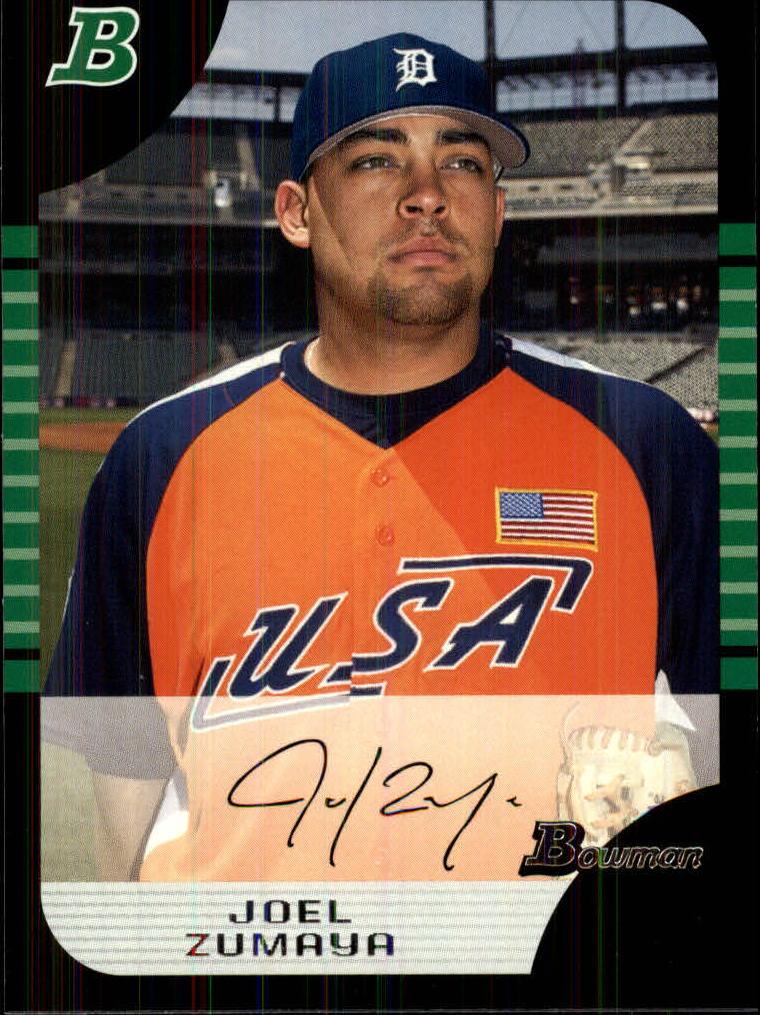 2005 Bowman Draft #131 Joel Zumaya PROS