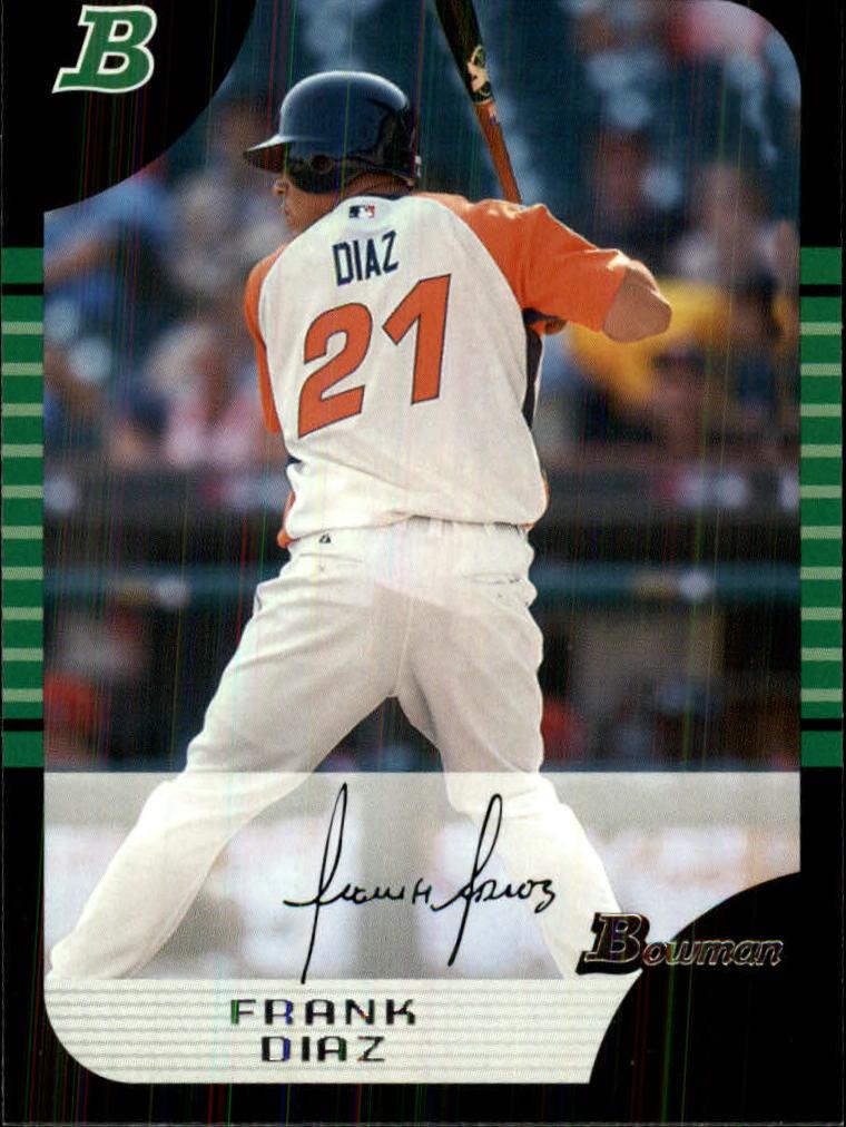 2005 Bowman Draft #149 Frank Diaz PROS RC