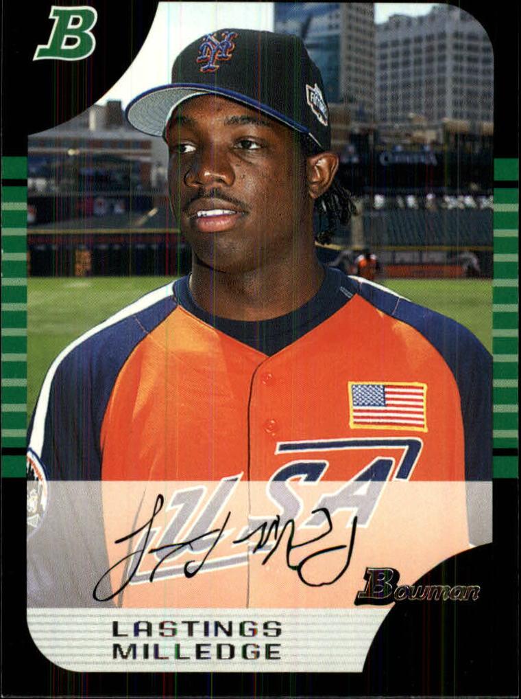 2005 Bowman Draft #154 Lastings Milledge PROS