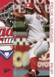 2005 Reading Phillies Multi Ad #24 Felix Villegas