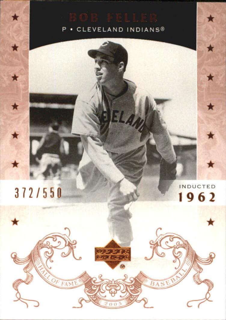 2005 Upper Deck Hall of Fame #5 Bob Feller